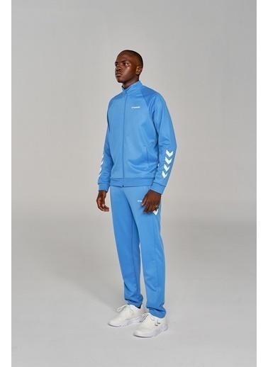 Hummel Falconzo Fermuarlı Sweatshırt Mavi